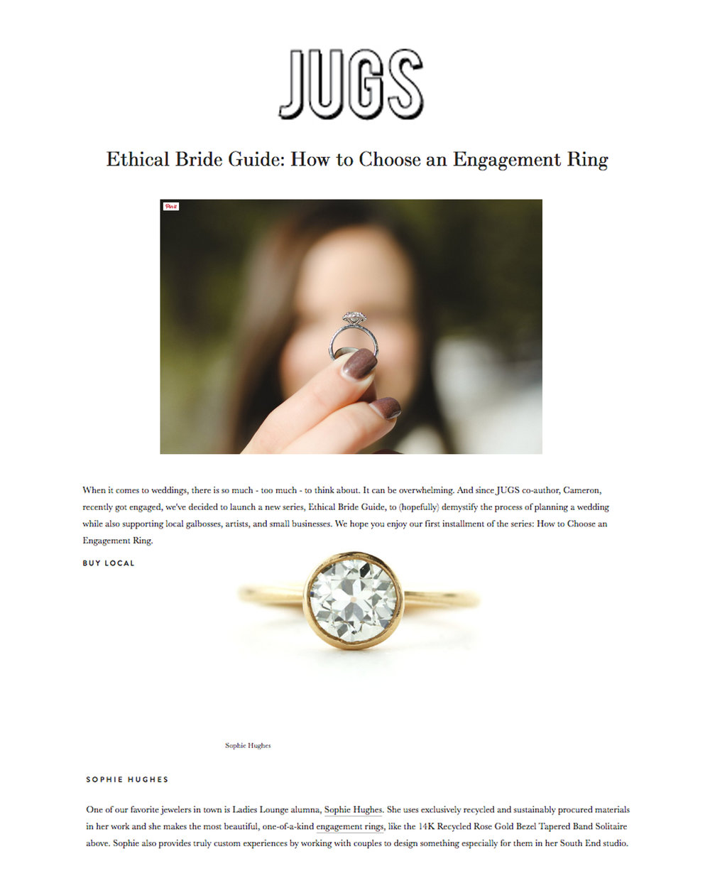 Sophie Hughes JUGS Just Us Gals Boston How to Choose An Engagement Ring Press.jpg