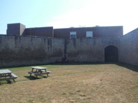 PHOTO BY ALEX LUSCOMBE OF THE YARD AT THE HURON COUNTY MUSEUM AND HISTORIC GAOL