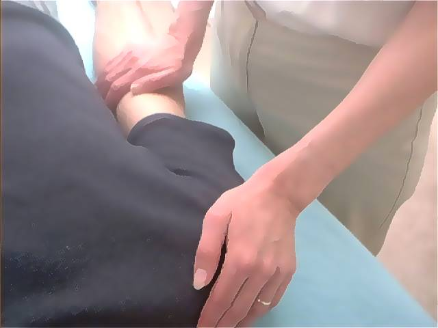 Right Elbow - Shoulder