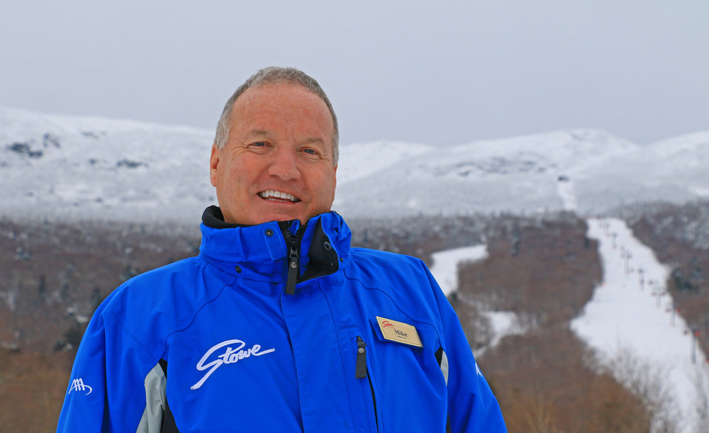 Michael Colbourn, VP Marketing, sales and communications, stowe mountain resort