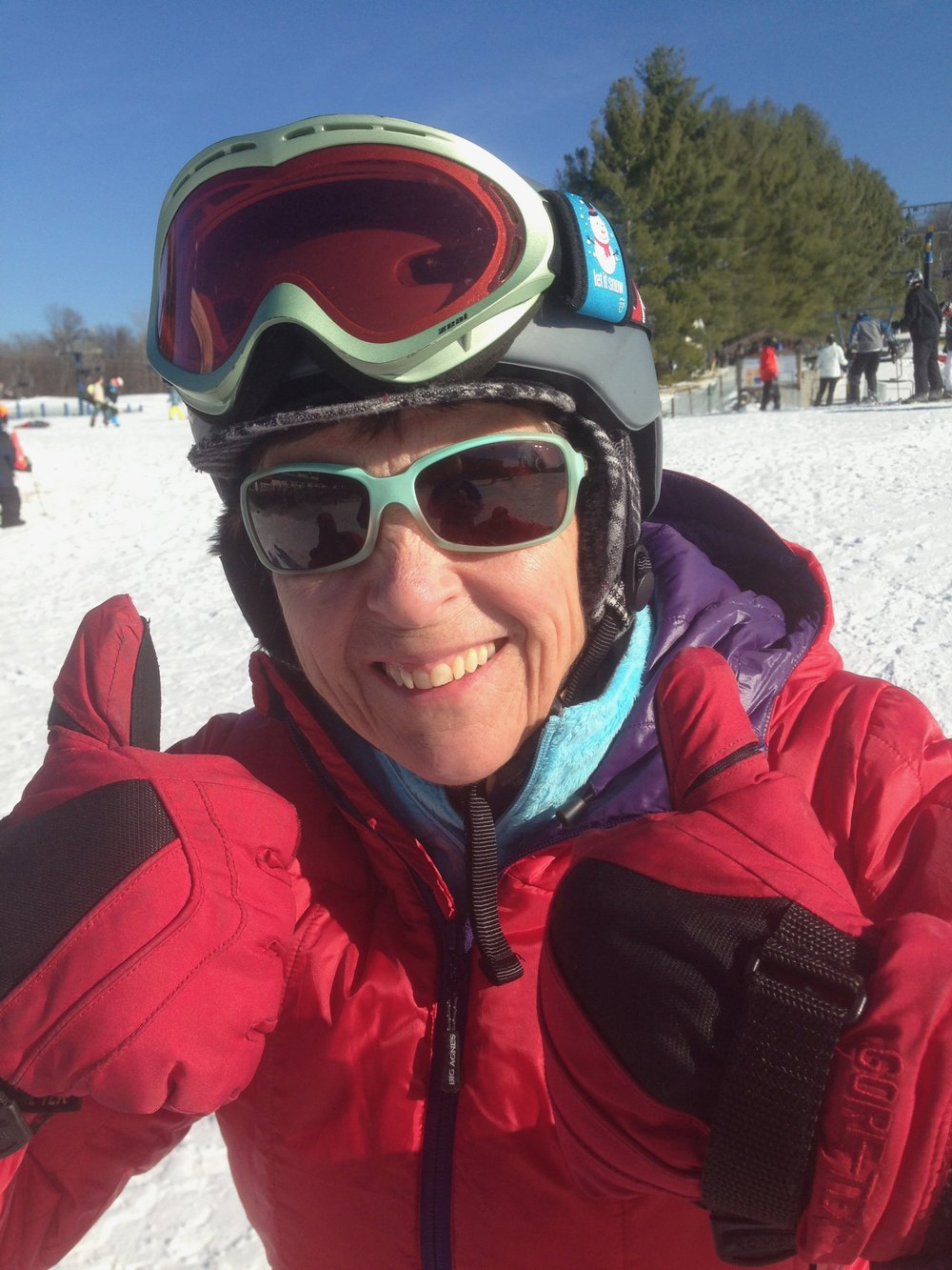 Mary Jo tarallo , Executive director, learn to ski and snowboard/bring a friend initiative