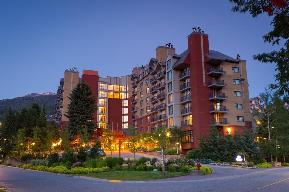 Hilton Resort Whistler in summer