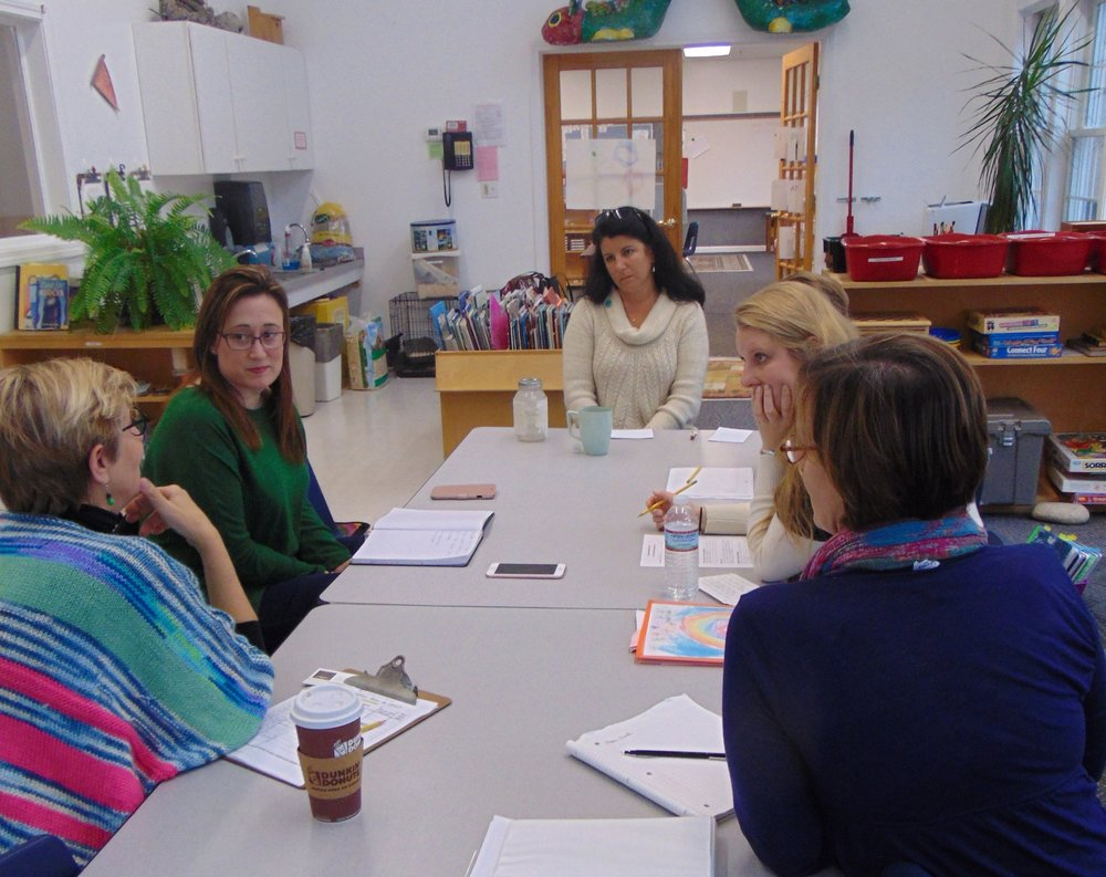 Elementary I, First Year (1st grade) Conference: Parent, Classroom Teachers, Learning Specialist, Director of Elementary