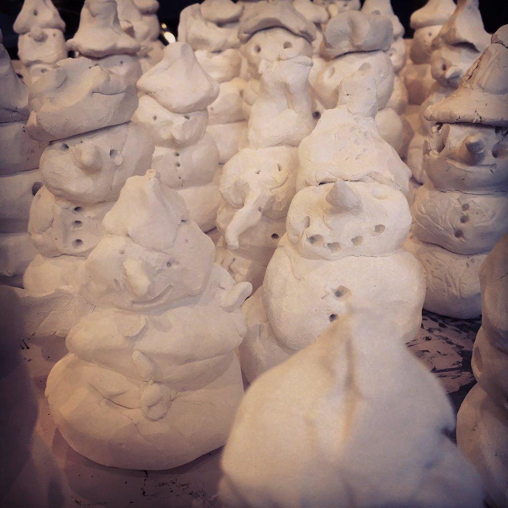Children's House Snowmen.