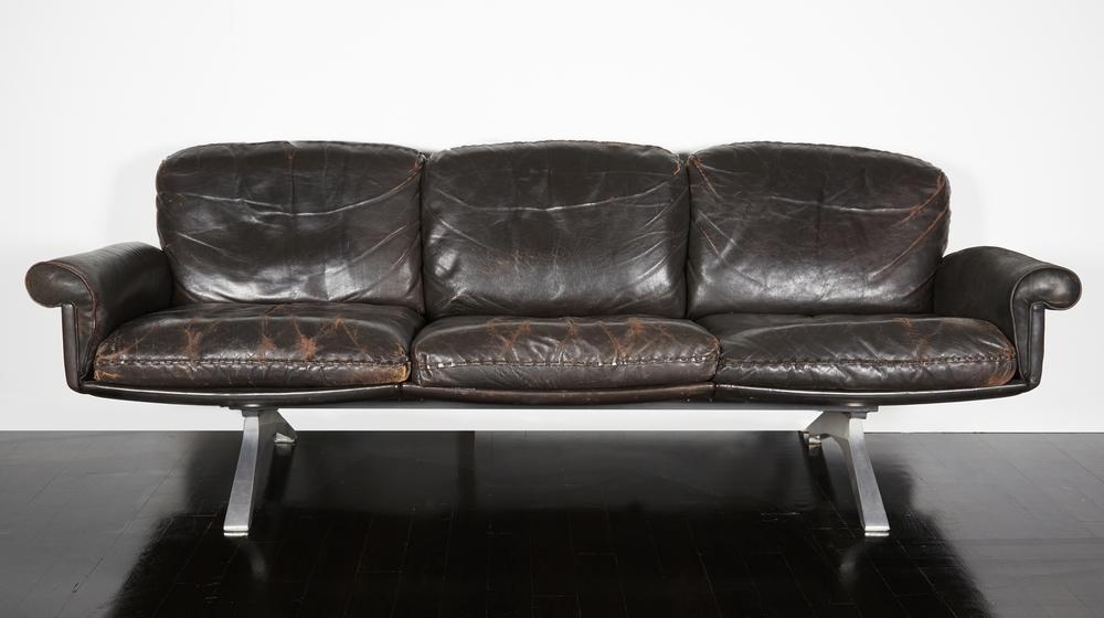 "DeSede Sofa 84"" w. x 29"" h. x 27"" d. $21,000"