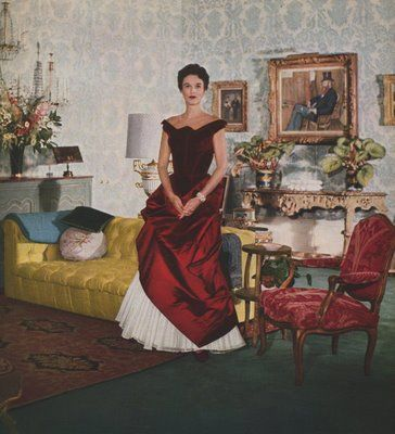 Babe Paley Living Room Portrait