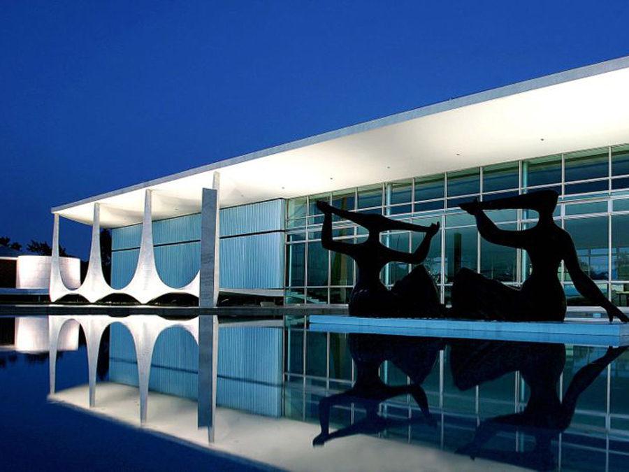 Oscar Niemeyer- Alvorada Brasilian Presidential Palace