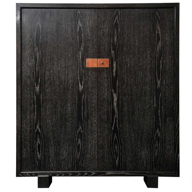 Black Oak Cabinet