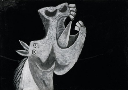 THE HEAD OF A HORSE - PICASSO