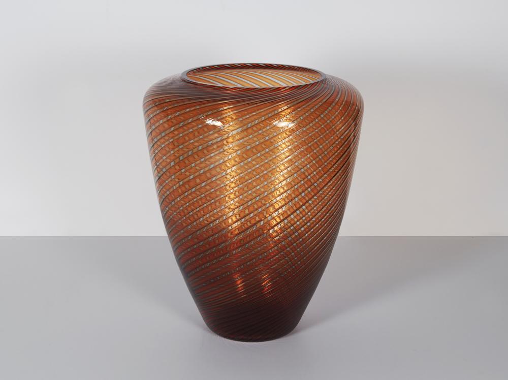 """Cendanese Murano vase 13"""" h. $3,600"""