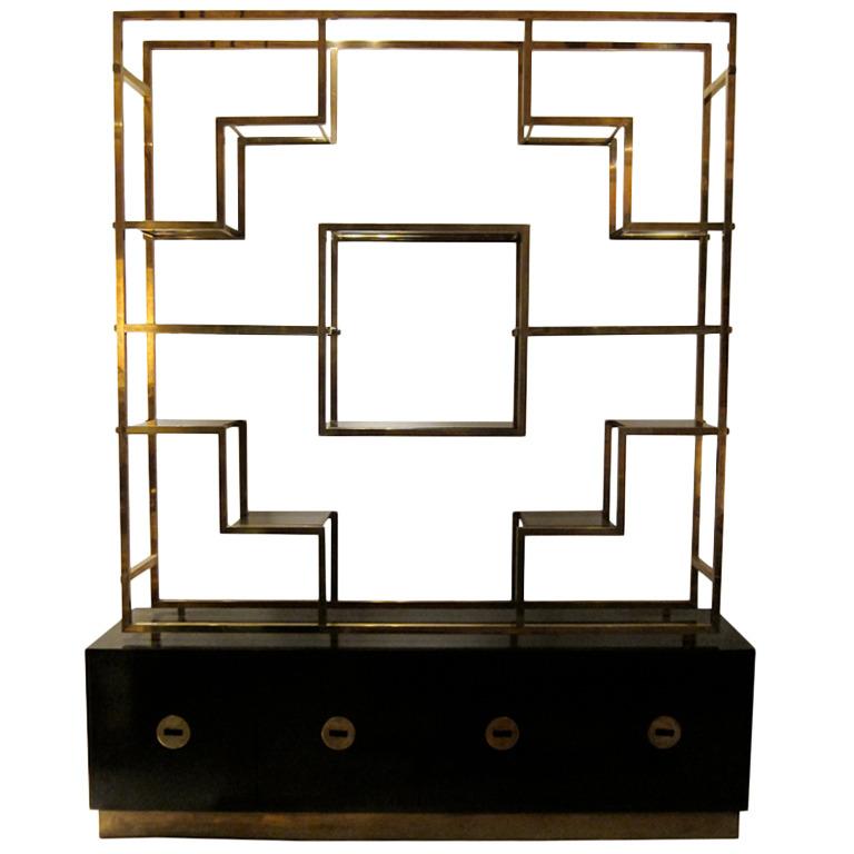 """Romeo Rega cabinet  96"""" h. x 79"""" w. x 20""""d.  $22,000"""