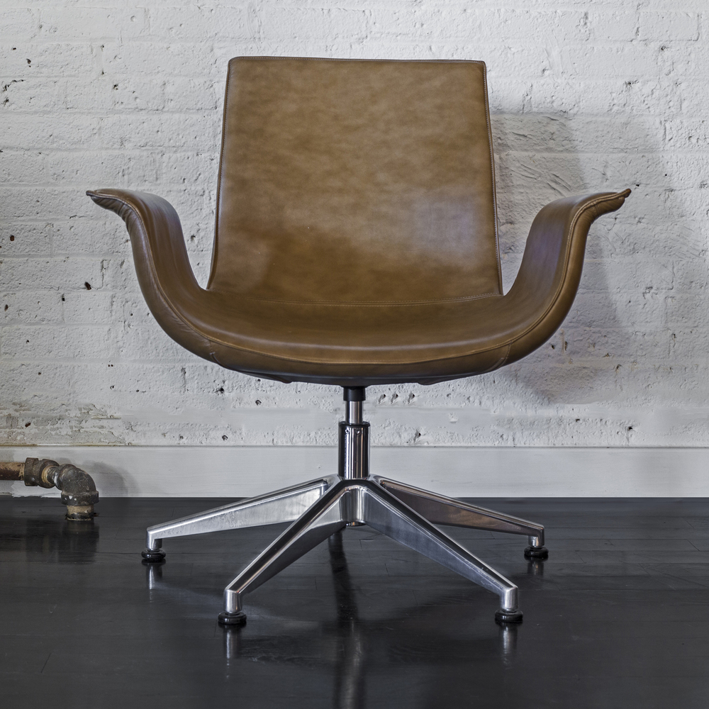 "Knoll bird chair 32"" h.  x  30"" w.  x  24"" d.  $3,600"