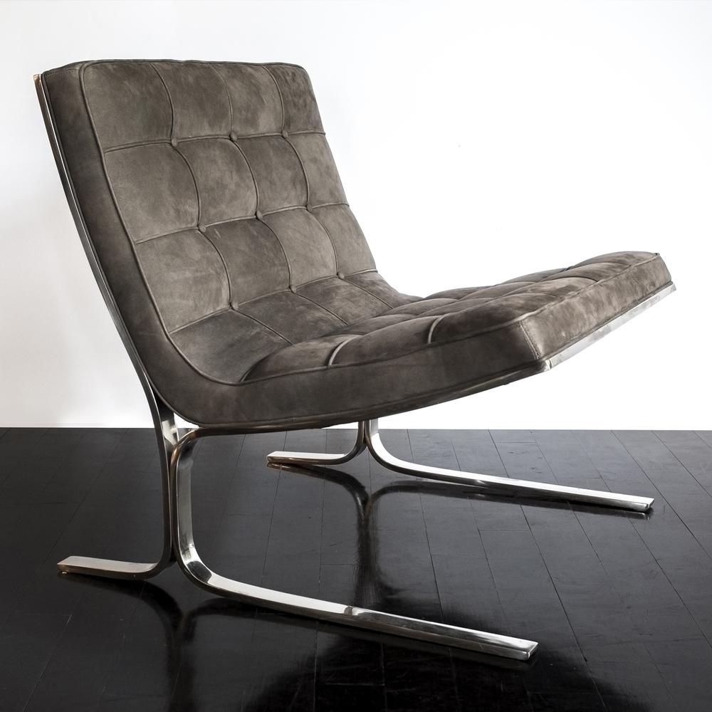 """Nicos Zographos Chair  29"""" w. x 29"""" h. x 29"""" d.  $6,400"""