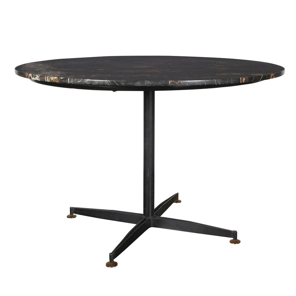 """Italian marble table  48"""" d.x 29"""" h.  $8,900"""