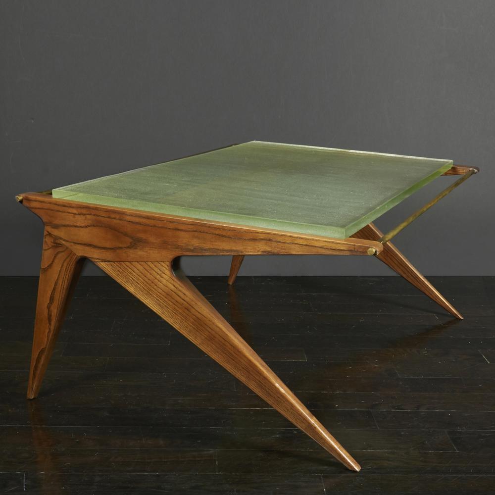 "Paolozzi & Guermon Prez coffee table 36"" w. x 26"" d. x 15"" h. $7,800"
