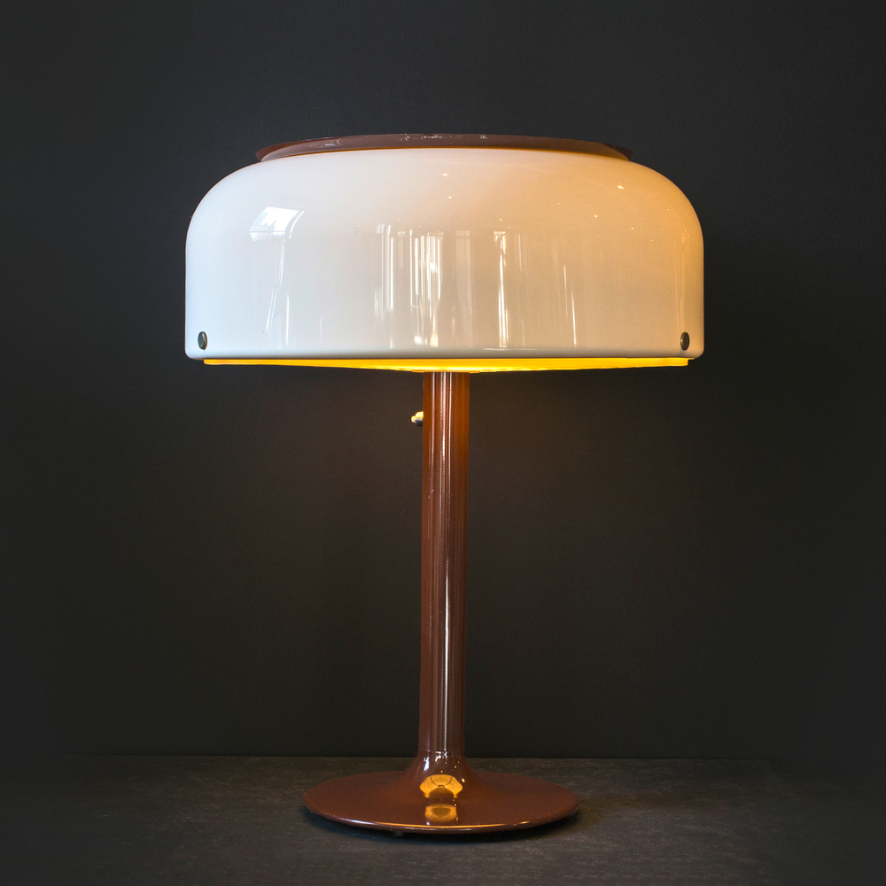 "Swedish modern lamp 28"" h.  x  24"" dia.  $5,400"