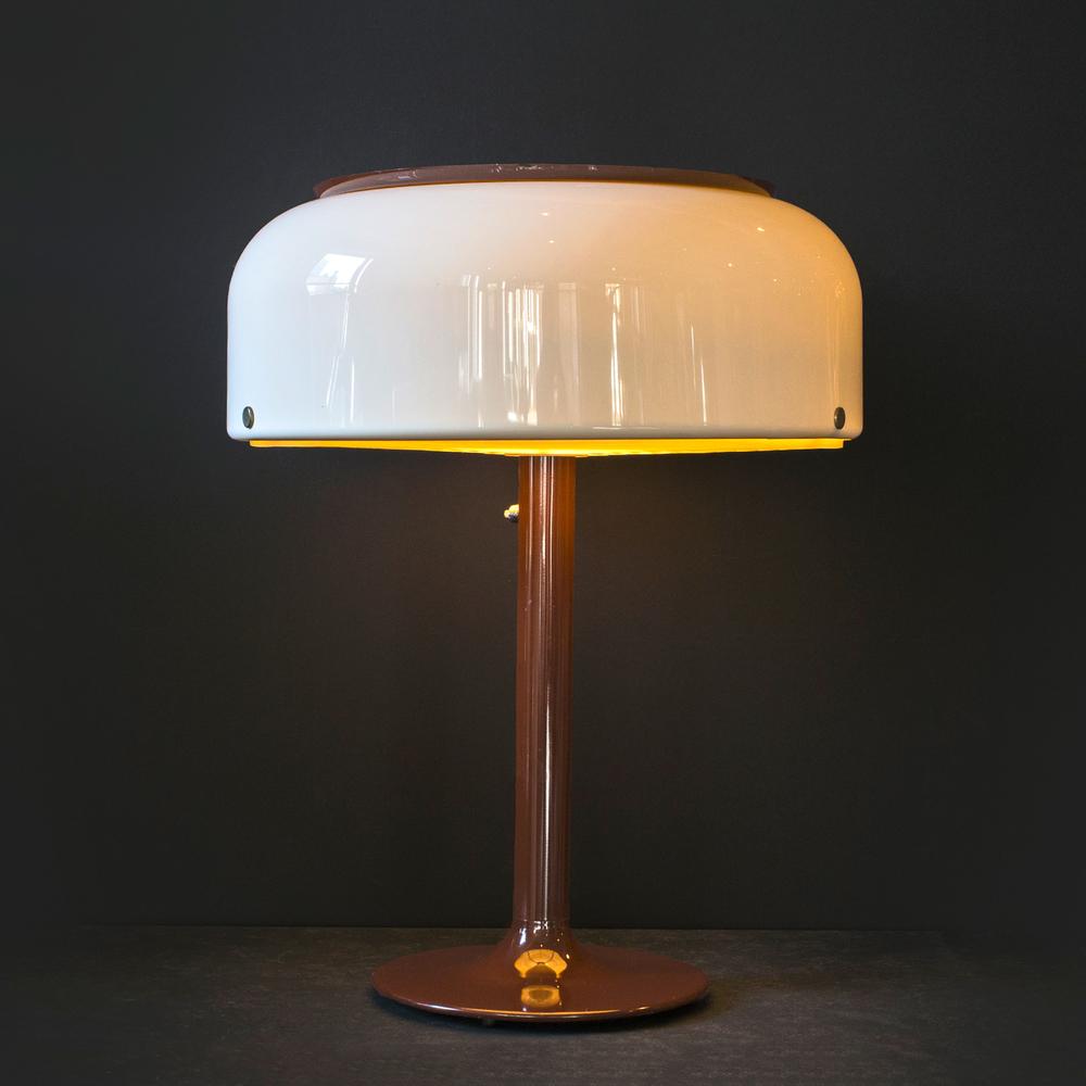 "Swedish modern lamp 28"" h. x 24"" dia. $5,400"