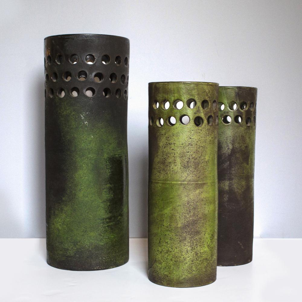Ettore Sottsass vases  $8,900