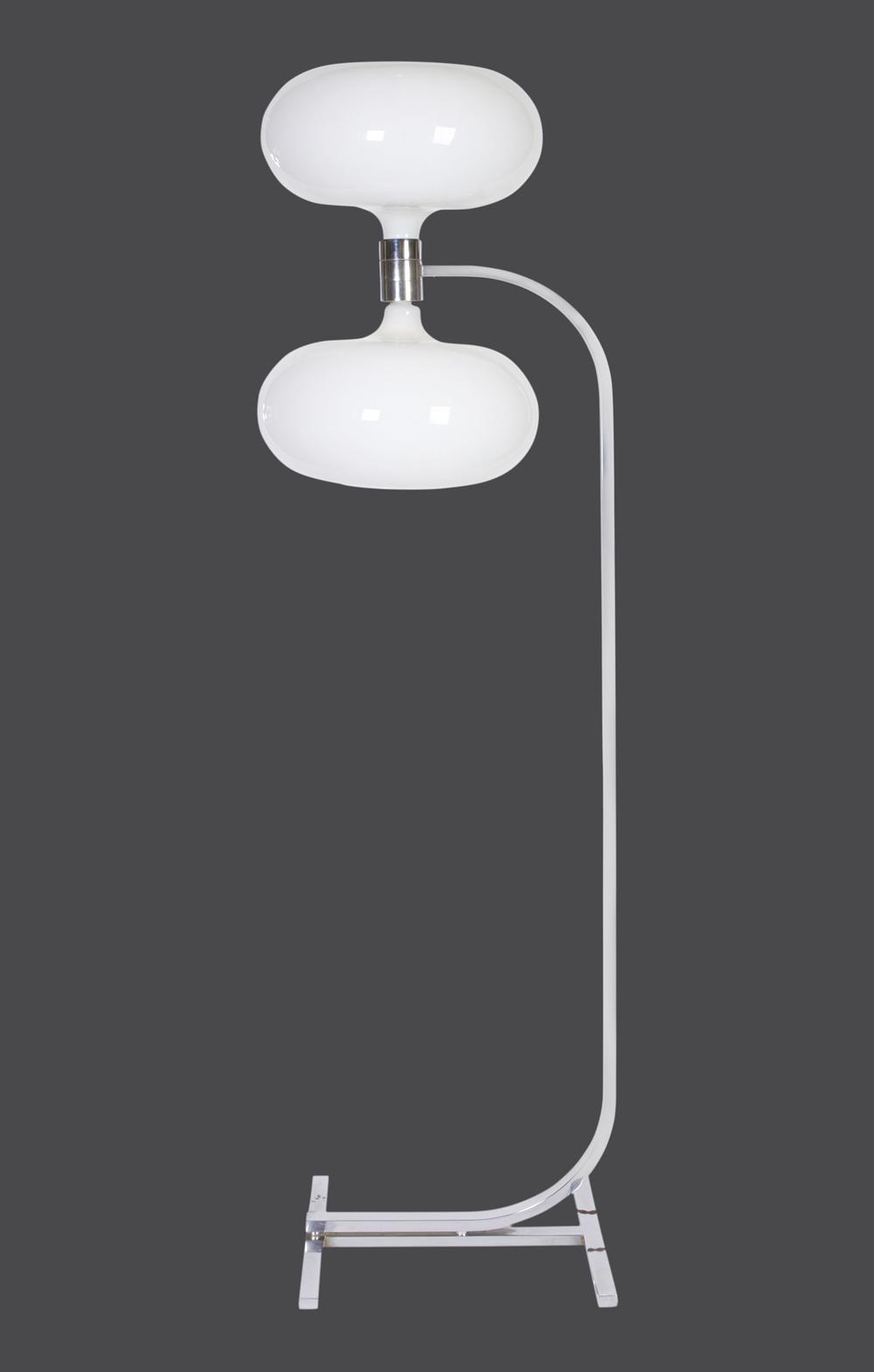"Franco Albini floor lamp 72"" h.x 20"" w.x 15"" d. $18,000"