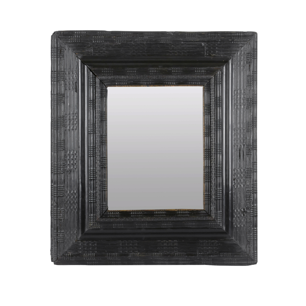 "18th Century Flemish Mirror 32"" h.  x 28"" w. $18,000"