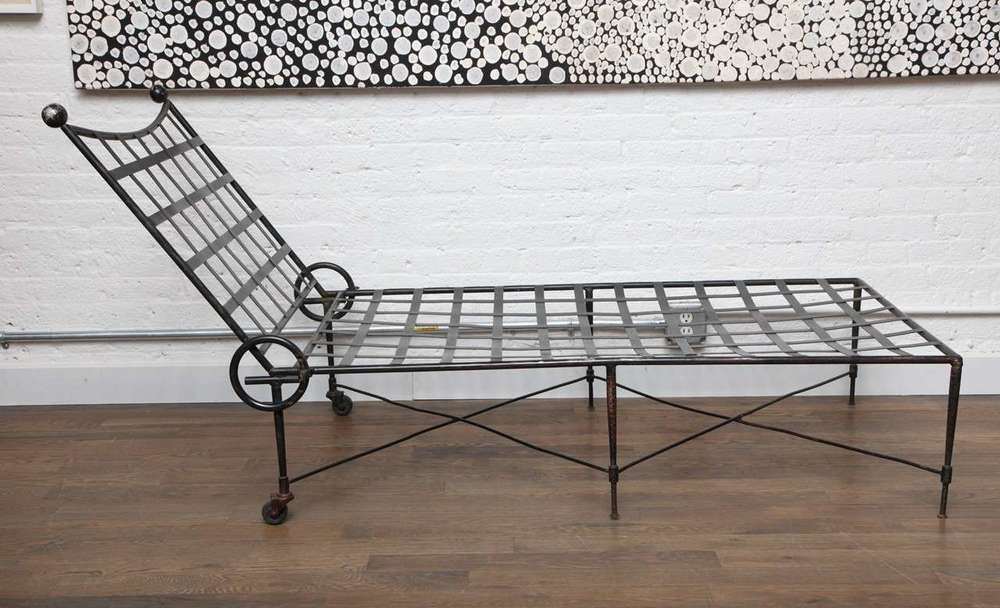 "Italian chaise lounge 75"" w. x 32"" h. x 30"" d. $2,800"