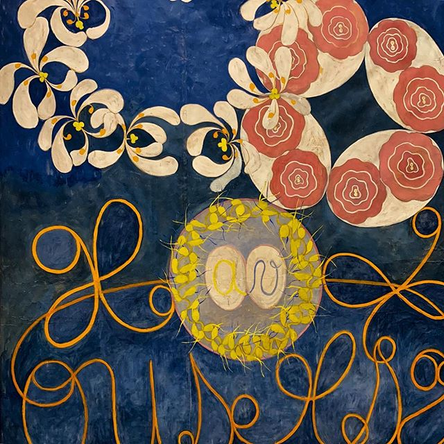 Sèance #hilmaafklint #painter #guggenheim #museum #conception #birth #life #love #flowers #rundontwalk #defem #spiritual #edelweiss #society #woman #nyc