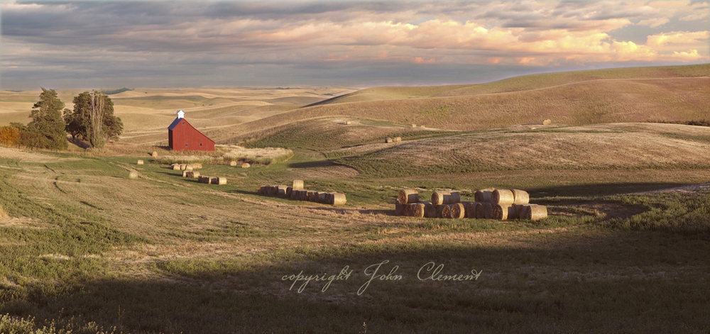 Palouse Co. Red Barn