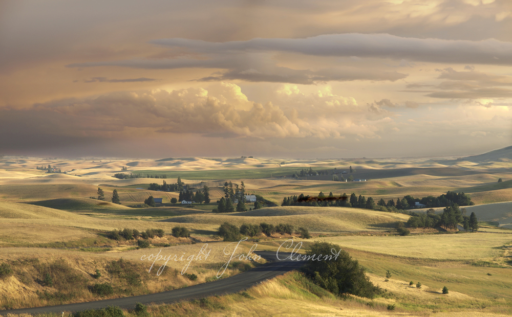 Rolling Palouse Summer Evening