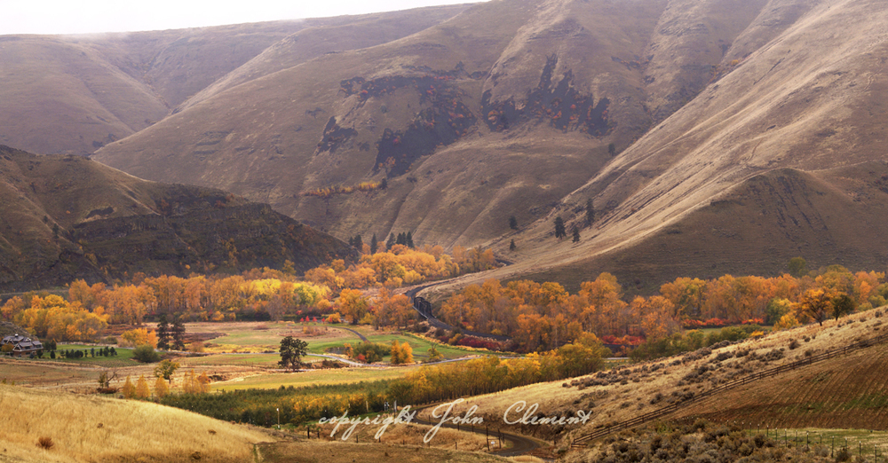 Yakima River Canyon Fall