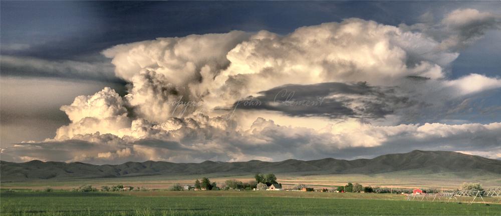 Malta Idaho - Stormy Vista II