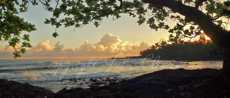 Hawaii Sunrise - Hilo Bay