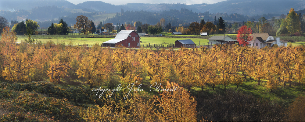 Fall Hood River Valley