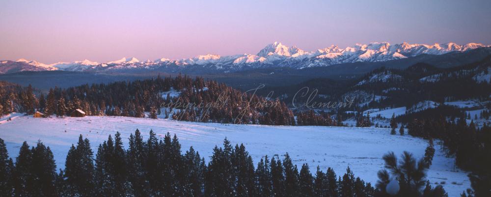 Alpenglow-Stuart Mtns.