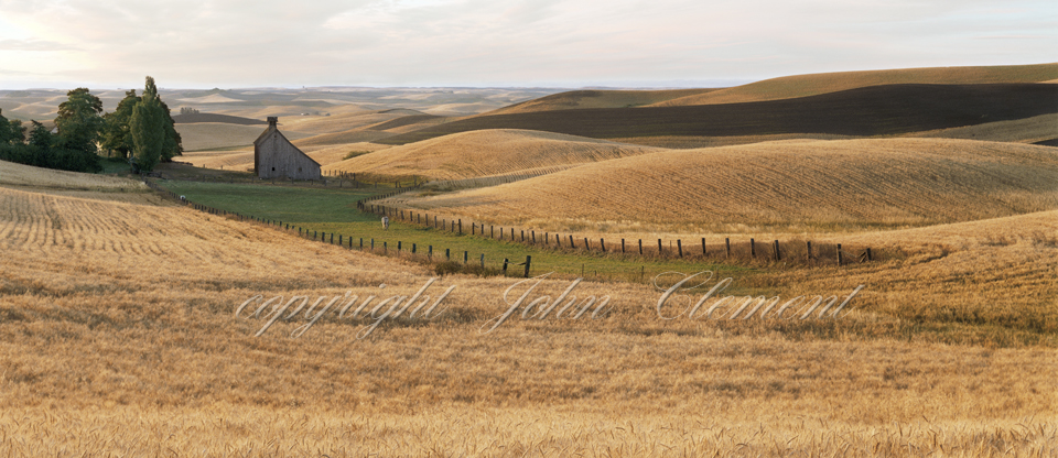 Palouse Country Barn Summer