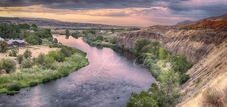 Yakima River Twilight