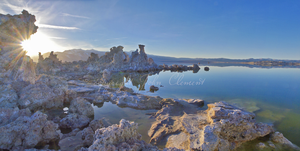 Tufa Twilight Mono Lake Ca.