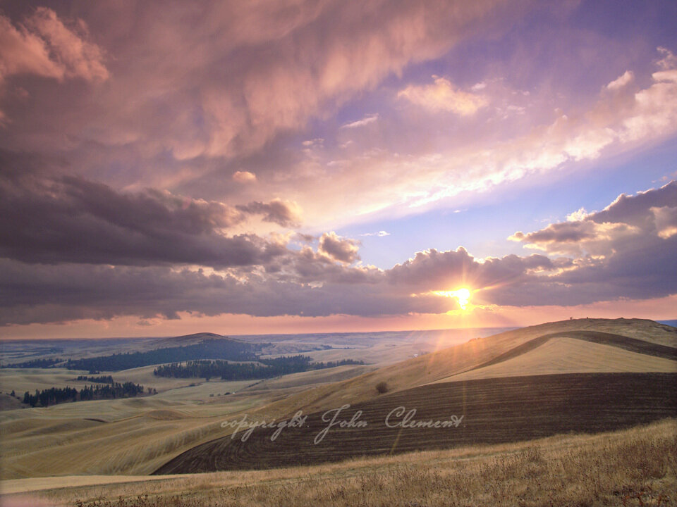 Golden Twilight Palouse