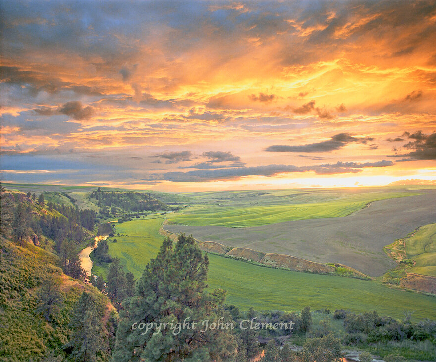 Palouse River Sunset