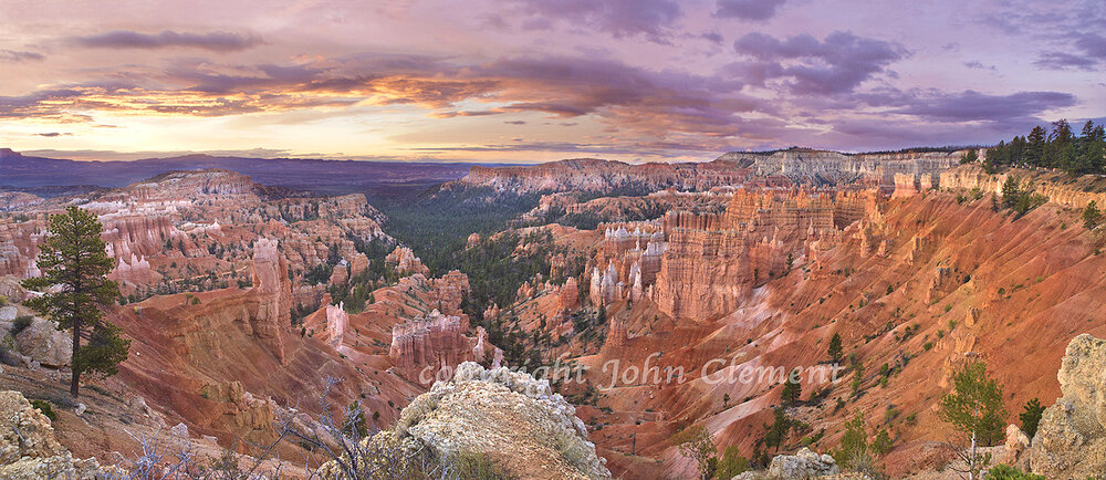 Bryce Canyon Sunrise Panorama