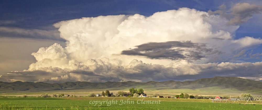 Malta, Idaho - Stormy Vista