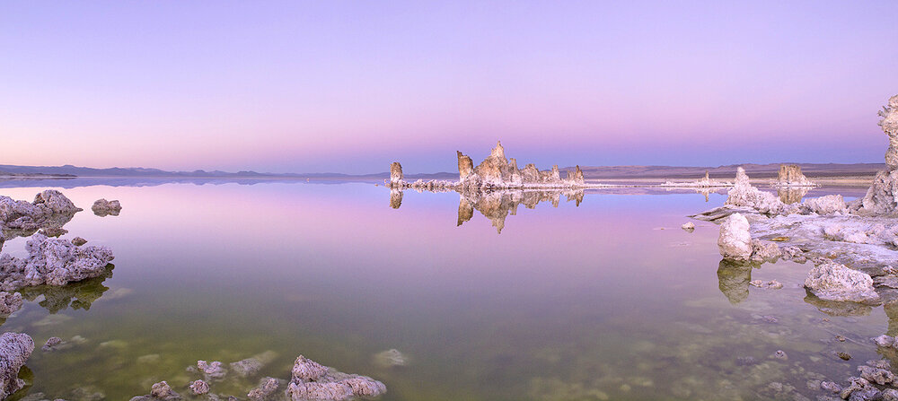 Tufa Twilight II Mono Lake CA.