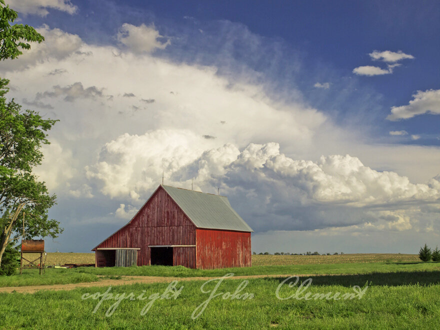 Red Barn Storm Kansas