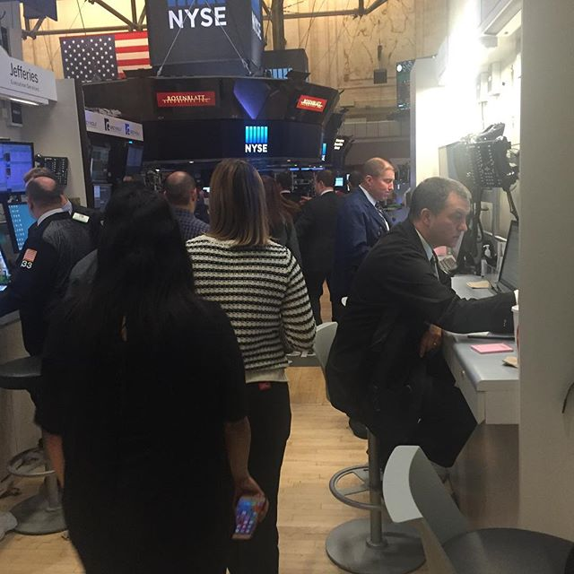 NYSE visitors - if you've never been, it's definitely worth seeing!