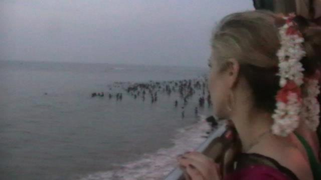 Indian Ocean 6am post temple darshan Jan. 2013