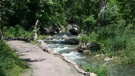 Enjoy Pipestone National Monument and feel the energy of this sacred Native American site dedicated to peace.