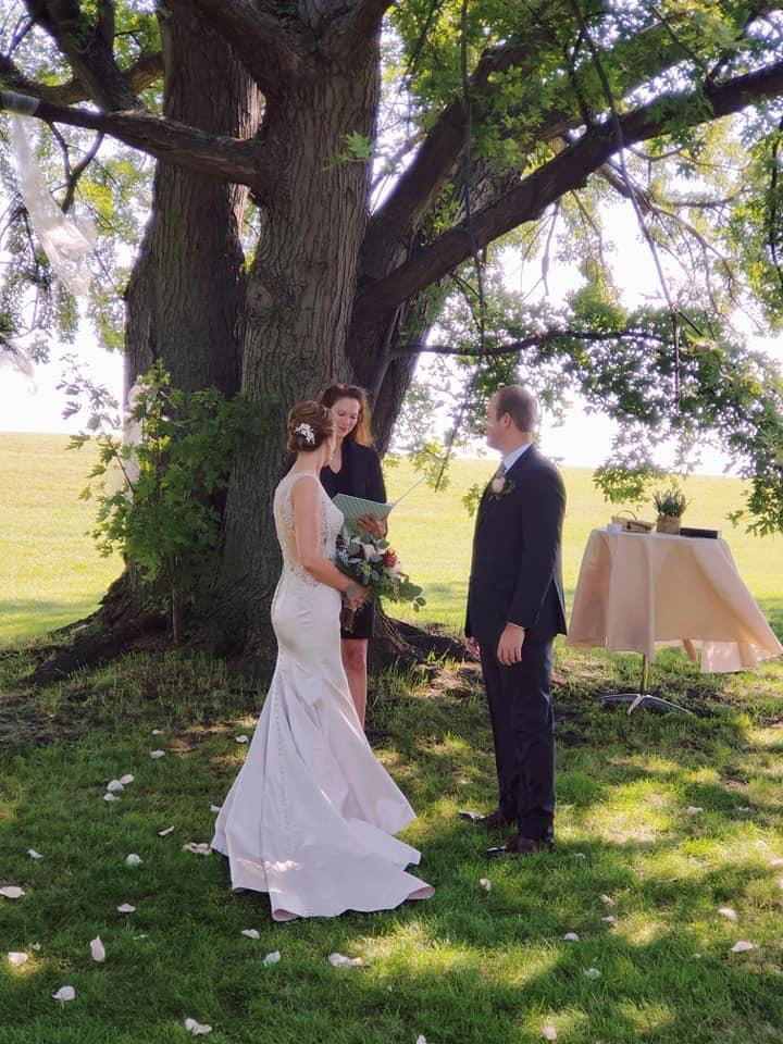Congratulations Gina & Zach!