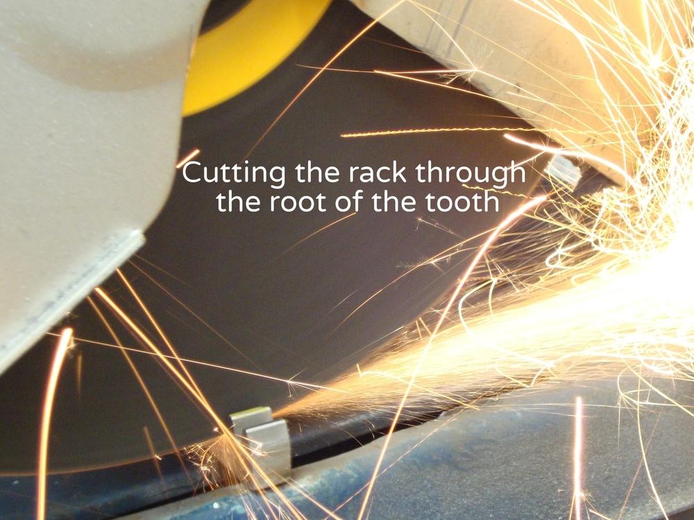 MediTek Stairlift Rack Cutting.JPG