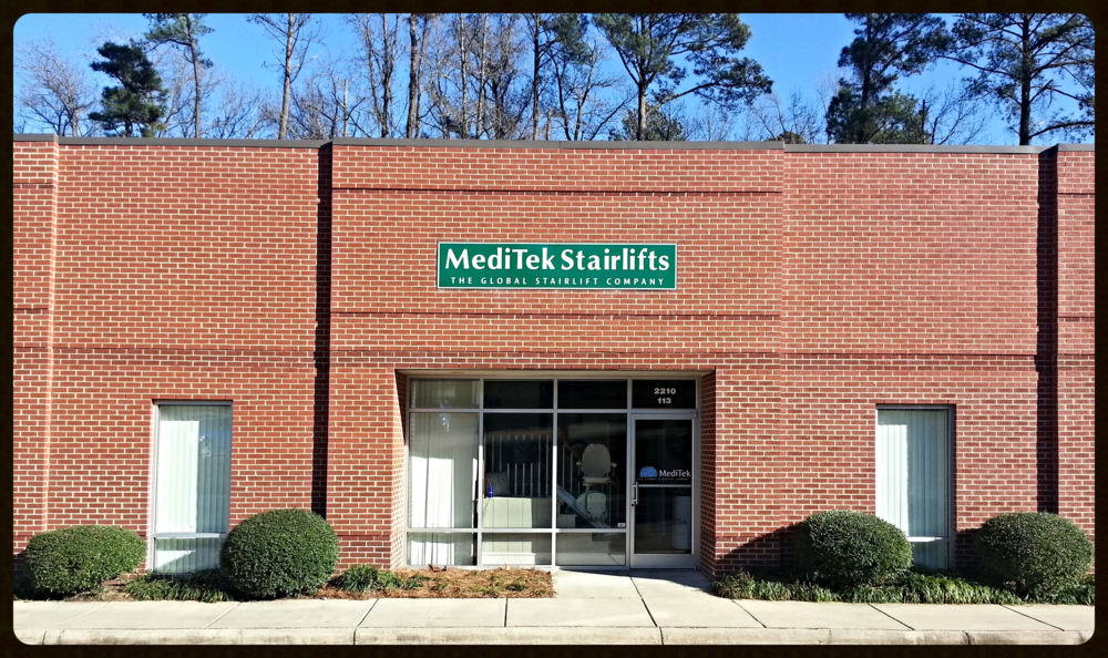 MediTek Stairlifts USA Head Office in Raleigh NC