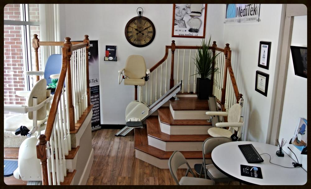 MediTek Stairlifts USA Training/showroom