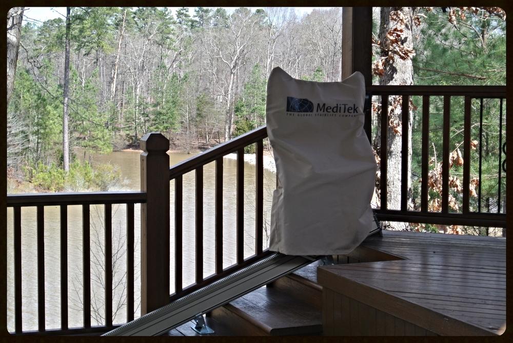 MediTek E120-2 Stair Lift Cover